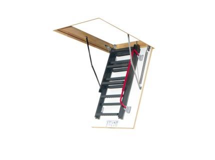 Металлическая чердачная лестница Fakro LMK высота установки от 280 до 305см