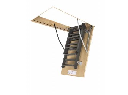 Металлическая чердачная лестница Fakro LMS высота установки до 280см