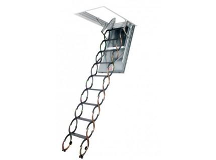 Металлическая огнестойкая чердачная лестница Fakro LSF