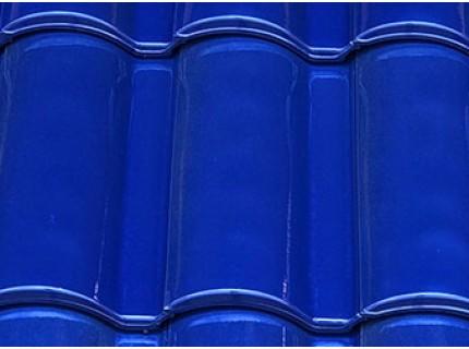Керамическая черепица LA ESCANDELLA SELEKTUM глазурь цвет синий
