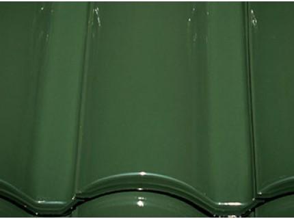 Керамическая черепица LA ESCANDELLA SELEKTUM цвет темно-зеленая глазурь