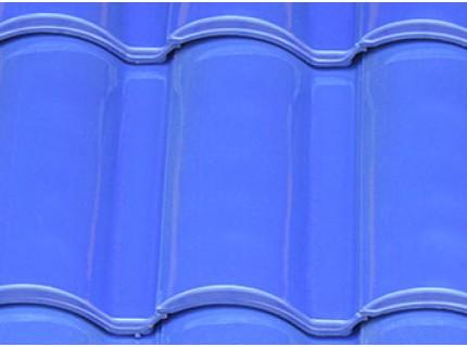 Керамическая черепица LA ESCANDELLA SELEKTUM глазурь цвет голубой
