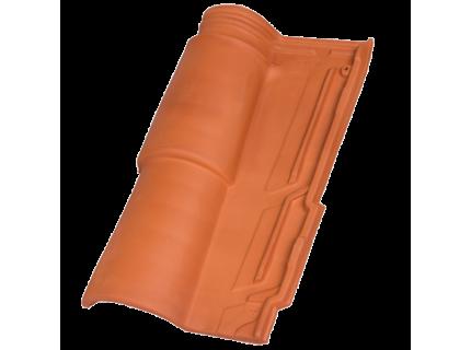 Керамическая Черепица HDR Occitan Red (Красная)