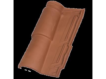 Керамическая Черепица HDR Occitan Brown (Коричневая)