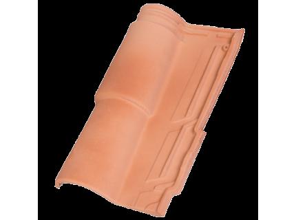 Керамическая Черепица HDR Occitan Flamed cream (Кремовый огненный)