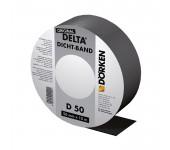 DELTA-DICHT-BAND DB 50 уплотнительная самоклеящаяся лента из битум-каучука для контробрешётки