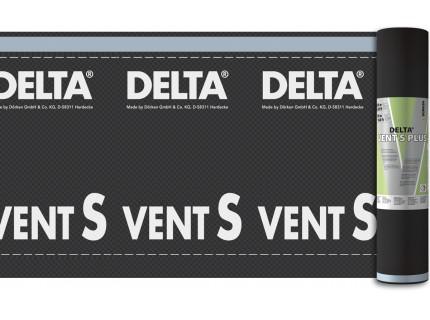 DELTA-VENT S PLUS диффузионная мембрана повышенной прочности с двумя зонами проклейки