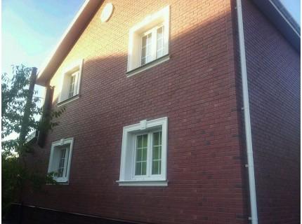 Фасадная панель Döcke BERG Рубиновый