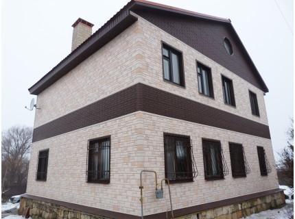 Фасадная панель Döcke BURG Льняной