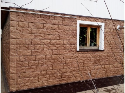 Фасадная панель Döcke FELS Терракотовый