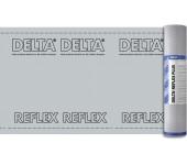 DELTA-REFLEX пароизоляционная плёнка с алюминиевым рефлексным слоем