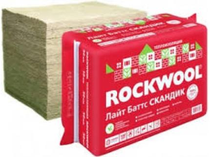 Утеплитель ROCKWOOL Лайт Батс Скандик 150мм